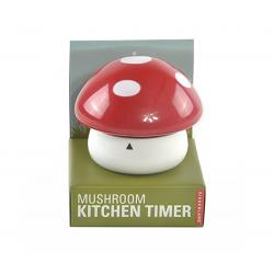 Timer da cucina kikkerland mushroom colore rosso - Timer da cucina ...