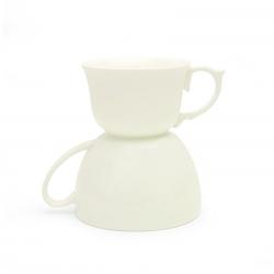 Doppia tazza caffè e tè...