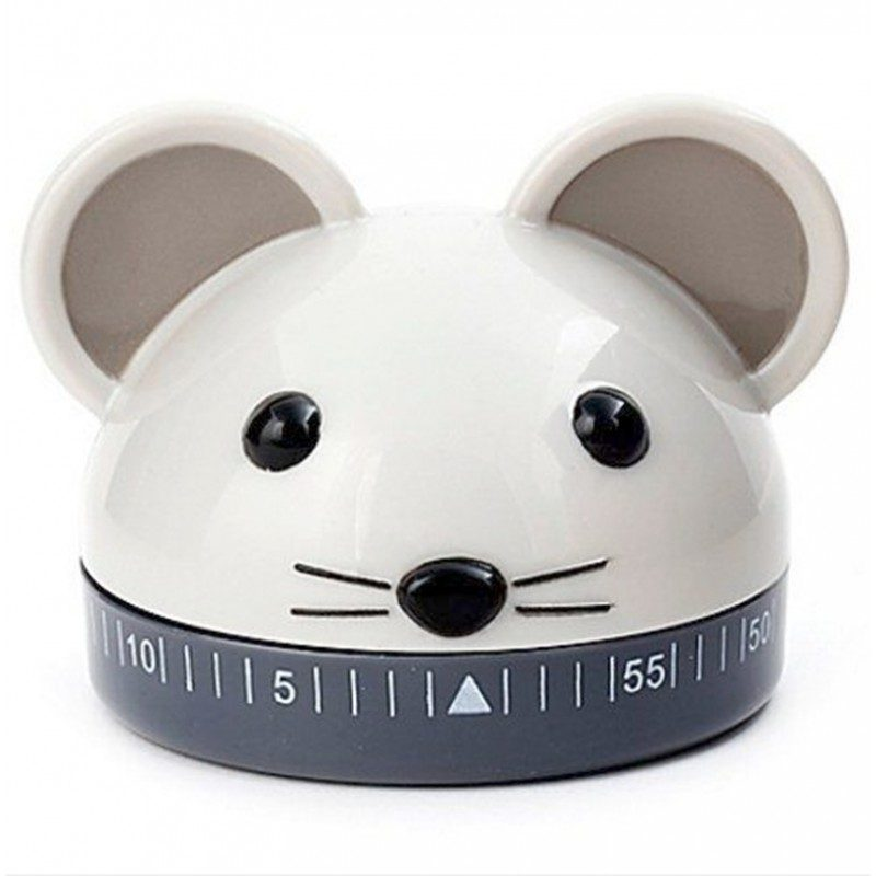 Timer da cucina Kikkerland Mouse