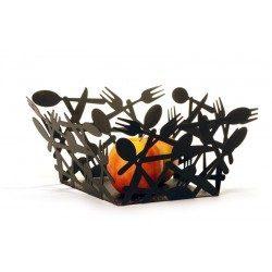 Portafrutta portapane nero...