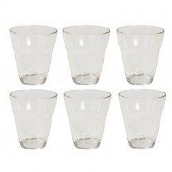 Set 6 bicchieri vetro...