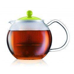 Teiera in vetro con...