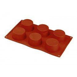 Stampo silicone 6 muffin Ø...