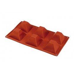 Stampo silicone 6 piramidi...