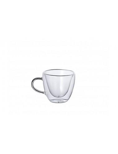 Set 2 tazze da tè in vetro...